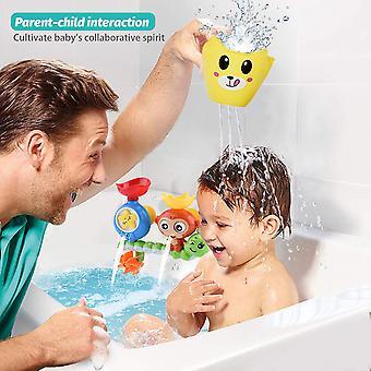 Badespielzeug für Kleinkinder Kinder Babys 1 2 3 Jahre Alte Jungen Mädchen Badewanne