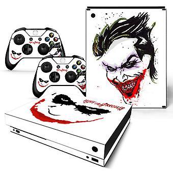 Xbox One X konzol és kontrollerek bőrmatrica - Joker