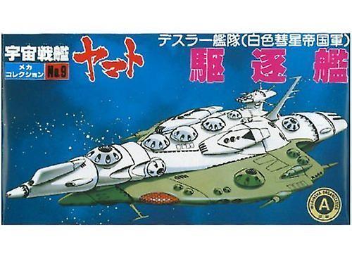 Space Battleship Yamato - Deathler niszczyciel (plastikowy model)