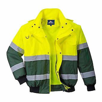 Portwest - X Hi-Vis sikkerhet Workwear Bomber Jacket