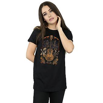Disney Women's Coco Guitar Poster Boyfriend Fit T-Shirt