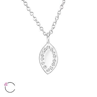 Marquise Mirror crystal from Swarovski® - 925 Sterling Silver Necklaces - W30718X