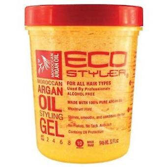 Eco Styler Moroccan Argan Oil Styling Gel 32oz