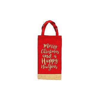 CGB cadeaux Noël joyeux Noël bonne année bouteille sac