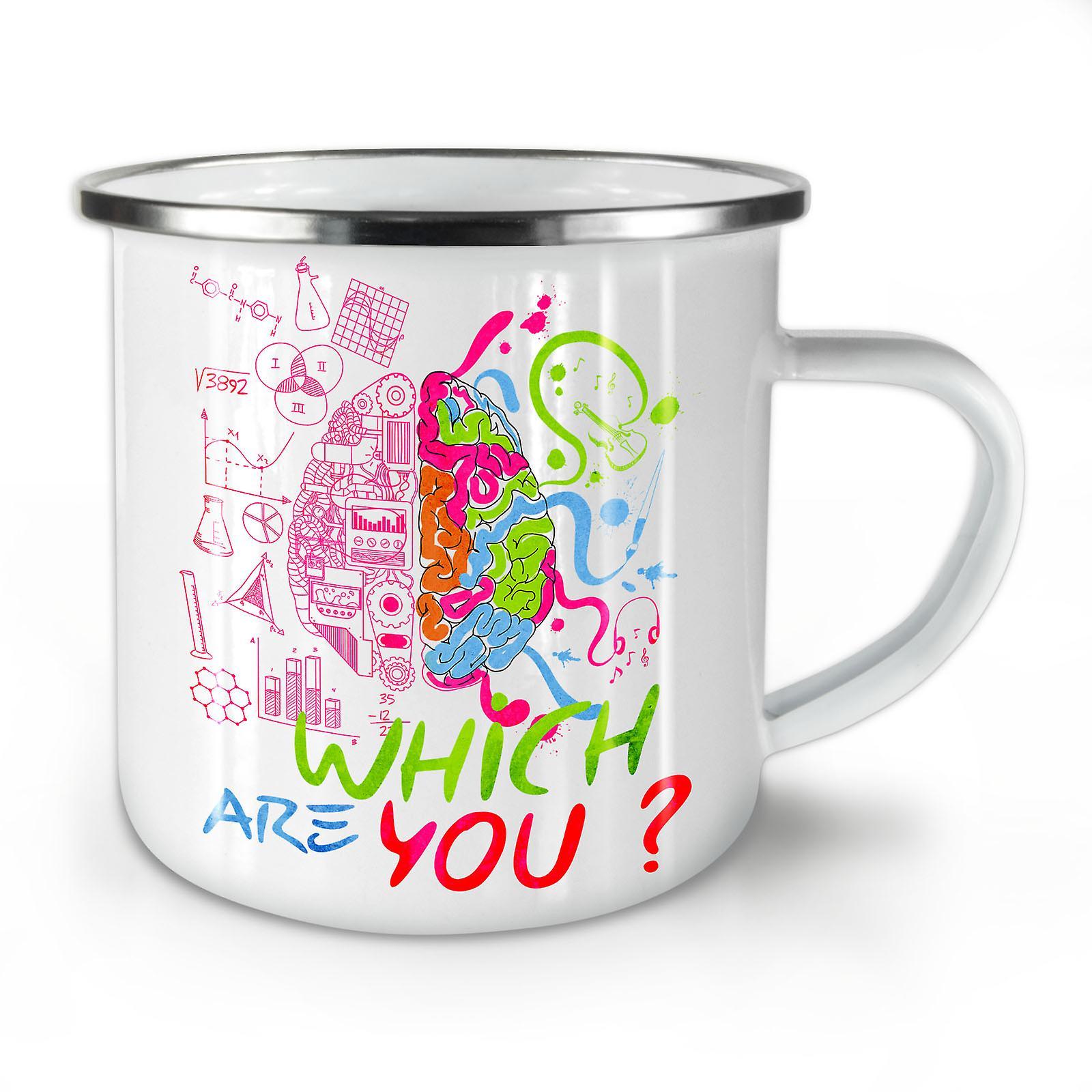 Cool as fuck enamel mug