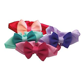 Groom Professional Pretty Bow Collar 10 Pack