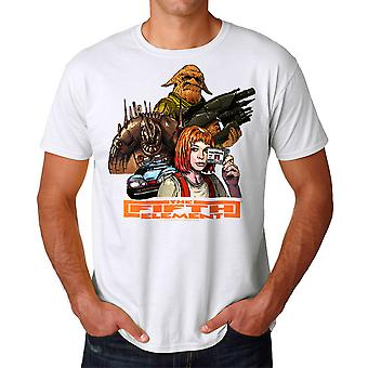 The Fifth Element Group Men's White T-shirt