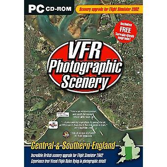 VFR 2 fotografisk sceneri-central-og Sydengland (Tilføj til Flight Sim 2002)-ny