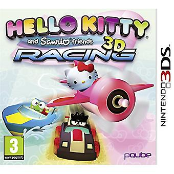 Hello Kitty and Sanrio Friends 3D Racing (Nintendo 3DS) - New