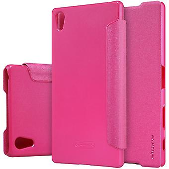 Nillkin smart cover Pink for Sony Xperia Z5 Premium 5.5