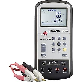 VOLTCRAFT LCR-300 Component tester Digital CAT I Display (counts): 20000