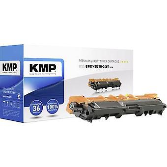 KMP Toner cartridge replaced Brother TN-246Y, TN246Y Compatible Yellow 2200 Sides B-T60