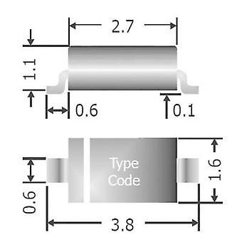 Diotec ثنائي سريع 1N4148W SOD 123 75 V 150 mA الشريط قطع