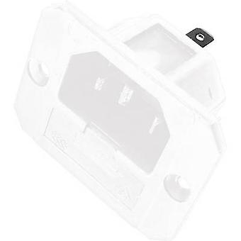 IEC connector 750 Series (mains connectors) 750 Plug, vertical mount Total number of pins: 2 + PE 6.3 A White Kaiser 750/ws 1 pc(s)