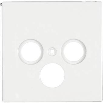Jung Cover SAT socket LS 990, LS design, LS plus Alpine white LS 990 SAT WW