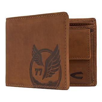 Camel active mens wallet portefeuille sac à main avec protection puce RFID Brown 7379