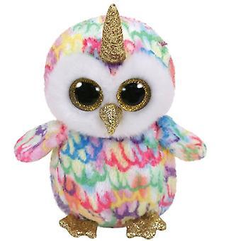 Beanie di Ty Boo - Unicorn Owl - ty36253