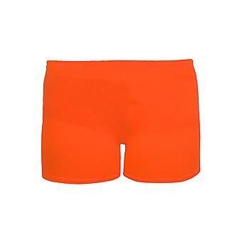 Mädchen Baumwolle Lycra Stretch Gym Gymnastik-Dance Kinder Neon Hot Pants Shorts