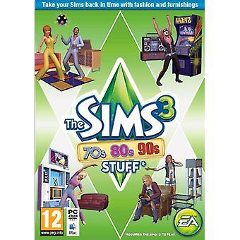 The Sims 3 70 ' erne 80 ' er og 90 ' er Stuff (PC DVD)-ny