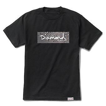 Diamond Supply Co Scatter Box Logo T-shirt Black