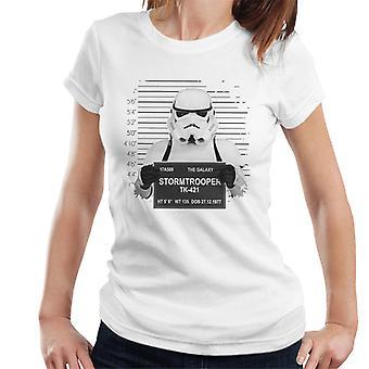 Original Stormtrooper Police Mugshot Women's T-Shirt