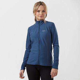 New GORE Women's C3 Thermo Jersey Navy