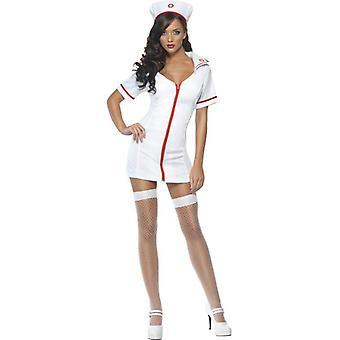 """Kuume seksikäs sairaanhoitaja puku, rinnassa 42 """"-44"""", jalka Inseam 33 """""""