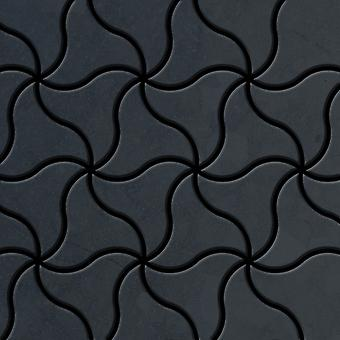 Mozaic metalic brut Steel aliaj ninja-RS