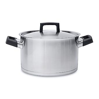 BergHOFF soup / vegetable pot stainless steel with lid 24 cm