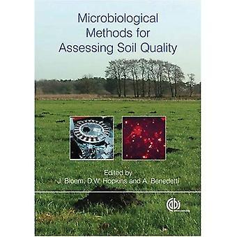 Méthodes microbiologiques pour évaluer la qualité des sols (Cabi)