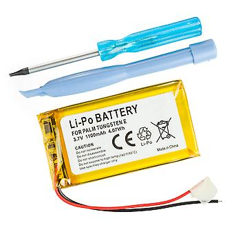 Battery for Palm Tungsten E, T5, TX, PDA 850mAh - UP383562A US383562A A6 +Screwdriver tool Li-Polymer