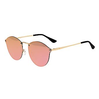 Sixty One Picchu Polarized Sunglasses - Gold/Pink