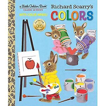 Richard Scarry färger (liten gyllene bok)