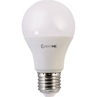 LightMe LED EEC a + (A ++ - E) E27 Arbitrary 10 W = 60 W warmweiß (Ø x L) 60 x 108 mm 1 PC