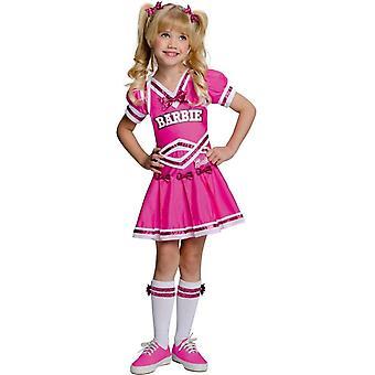 Strój dziecka Barbie cheerleaderki