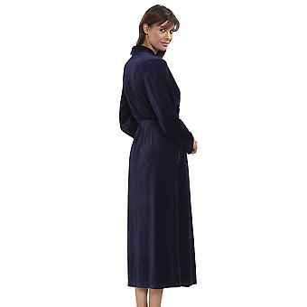 Rösch 1884164-11694 Women's New Romance Night Blue Dressing Gown