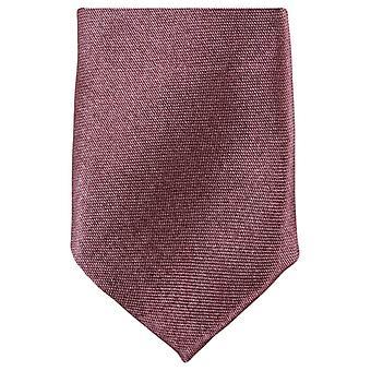 Knightsbridge kaulavaatteita laiha Polyesteri solmio - ruskea