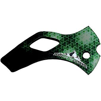 標高トレーニング マスク 2.0 マトリックス スリーブ - グリーン