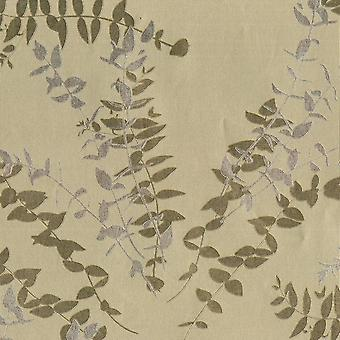 Silver Gold Leaf Floral Wallpaper Metallic Foil Silhouette Vinyl Flowers Muriva