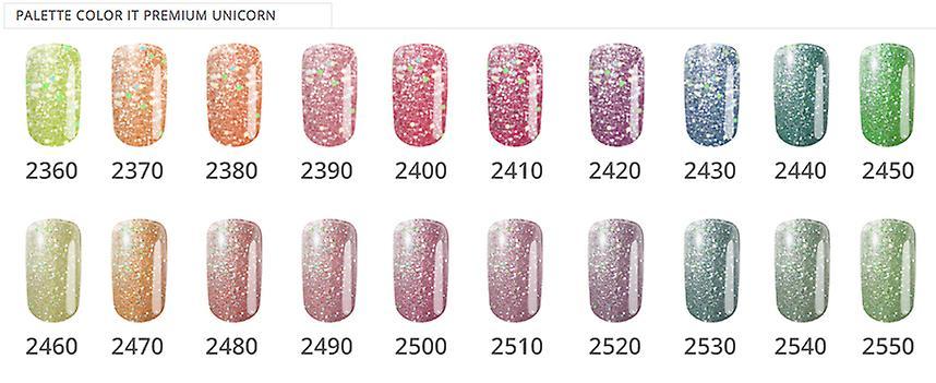 Gellack - Color IT - Premium - Unicorn - *2550 UV-gel/LED
