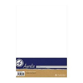 Aurelie razítkování Cardstock Bílá