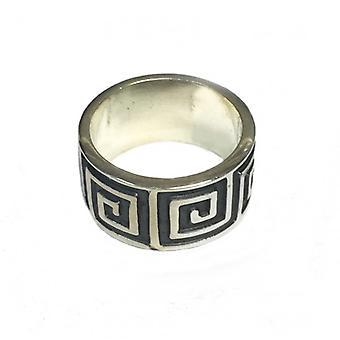 Cavendish Franse Zilveren Ring van het doolhof