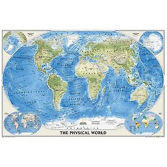 The Physical World by National Geographic Maps - 9780792280880 Book