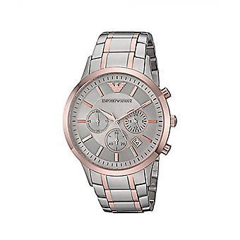 Emporio Armani Ar11077 reloj de hombre de acero inoxidable de dos tonos