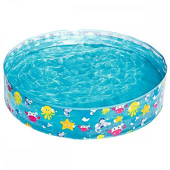 Bestway 48 x 10 Inch Fill-N-Fun Sea Garden Piscină paddling Pool Albastru
