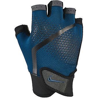 Nike Mens Extreme fitness gants bleu Force Black Thunderstorm