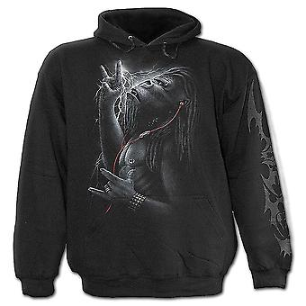 Spiral Direct Gothic DEVOLUTION - Kids Hoody Black|Metal|Tribal