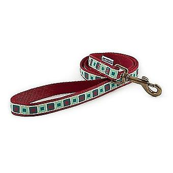 Ancol Claret Squares Dog Lead