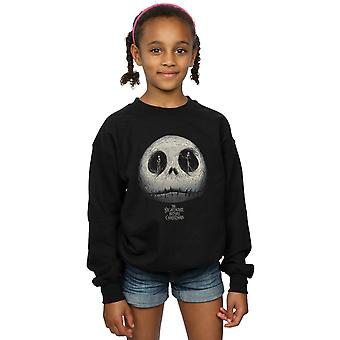 Disney Girls Nightmare Before Christmas Jack's Eyes Sweatshirt