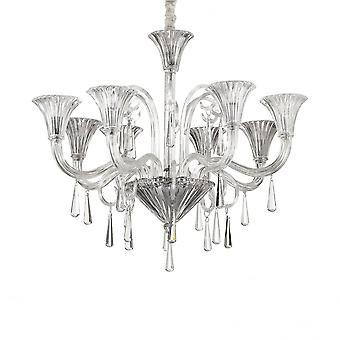 Ideale Lux Santa 8 lamp hanger licht